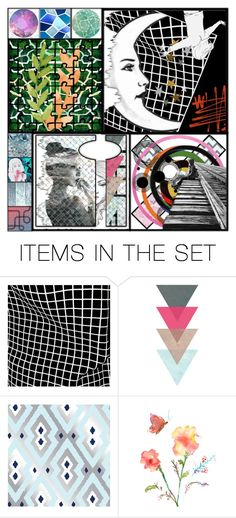 """""""Sets traveler (4 sets in 1)"""" by tempestaartica ❤ liked on Polyvore featuring art"""
