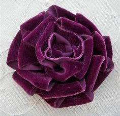Image result for making flowers in paper, fabric and ribbon