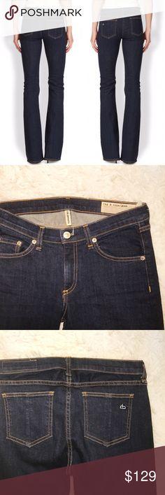 "• Rag & Bone • Elephant Bell Jeans \\ waist 14""  \\ rise 8""  \\ inseam 35""  \\ hem 10.5"" rag & bone Jeans Flare & Wide Leg"
