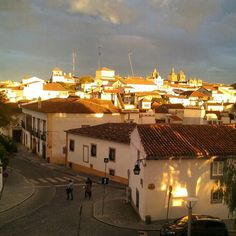 Sunset in Évora