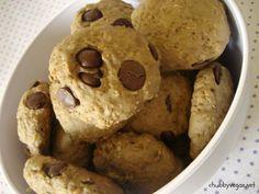 Cookies com grão-de-bico e chocolate chips!