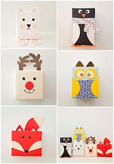 cute animal gift wrap | animal gift wrap ideas | animal gift wrap | paper animal gift wrap