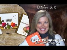 VIDEO: October 2016 Paper Pumpkin Kit, Alternate Projects & Giveaway | Stampin Up Demonstrator - Tami White - Stamp With Tami Crafting and Card-Making Stampin Up blog