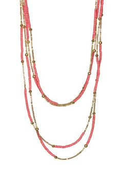 St. Barth Beaded Necklace by Stella + Ruby on @HauteLook