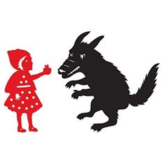 Red Riding 2 Part Brooch - black