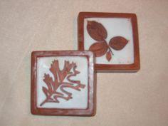 framed leaves soap