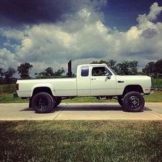 lifted dodge trucks - Google Search | Jacked up Dodge ram ...