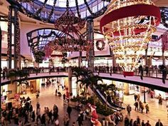 Centro shopping mall Oberhausen - DE This was an amazing place to shop and they had the best Christmas Market