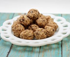 No Bake Peanut Butter Chocolate Chip Energy Bites Recipe