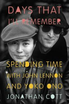 Author Jonathan Cott met John Lennon in 1968 and was in the studio while the Beatles worked on the White Album.  Cott remains friends with Yoko Ono and writes about her positive influence on Lennon.  This is a very personal account and a good antidote to the many authors who demonize Ono and insist that she broke up the Beatles ---Mark W.