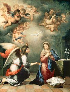 Bartolomé Esteban Perez Murillo-Die Verkündigung Mariae