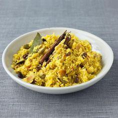 Плов из риса басмати с картофелем
