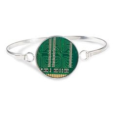 Recycled Motherboard Bracelet For Courtney.