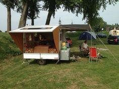 Rapido Retro Caravan, Caravan Ideas, Vans Original, Gypsy Wagon, Channel Islands, Camping Life, Outdoor Life, Big Trucks, Campers