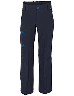 Jack Wolfskin Boys Activate II Soft Shell Pant Night Blue 116 *** Visit the image link more details.(This is an Amazon affiliate link and I receive a commission for the sales) #BoysOutdoorClothing
