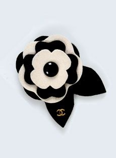 Authentic Chanel Black/White Felt Camellia Brooch at Yoogi's Closet. Chanel Men, Chanel Black, Coco Chanel, Chanel Necklace, Chanel Jewelry, Jewlery, Camelia Chanel, Shoes Wallpaper, Flower Corsage
