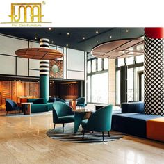 customized 5 star hotel project luxury lobby hall furniture set design, View hotel lobby furniture manufacturers, Feidao, Fei Dao Product Details from. Bauhaus Interior, Interior Architecture, Lobby Interior, Hotel Lobby Design, Modern Hotel Lobby, Hotel Interiors, Office Interiors, Furniture Sets Design, Interior Design Minimalist