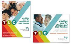 Pediatrician & Child Care - Poster Template
