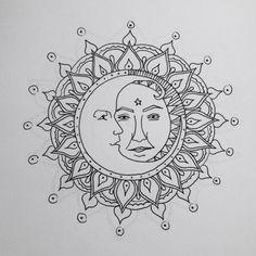 187 Mejores Imágenes De Diseños Sol Y Luna