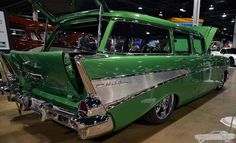 1957 Chevy Bel Air Wagon by Chad Horwedel, via Flickr