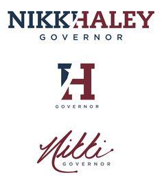 Nikki Haley Logo Concepts