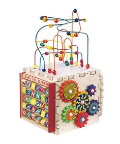 cool kid stuff on zulily today. Take a look at this Deluxe Mini Play Cube by Anatex on #zulily today!
