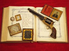 Confederate Spiller and Burr Revolver identified to Henry James McGraw Co. G…
