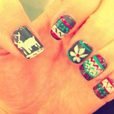 #Holiday #Winter #Nails