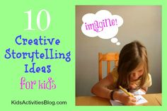 Ten fun creative writing prompts you can use with your children, whatever their age.