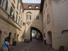A Quarter Arch at Bolzano Bozen, Trentino-Alto Adige_ Italy