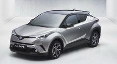 Toyota C-HR vista frontal