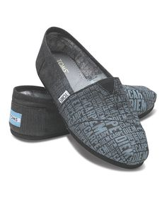 23cfc654da5 Take a look at this Charcoal Carpe Diem Classics - Men by TOMS on  zulily