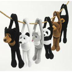 Plush Long Arm Zoo Bears from Designed 2B Sweet