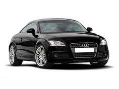 Black Audi TTS