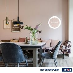 living room ideas – New Ideas Blush Living Room, Living Room Colors, Living Room Decor, Room Inspiration, Interior Inspiration, Pink Walls, Scandinavian Home, Home Fashion, Sweet Home
