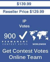 Buy 900 IP/Single Click Votes at $129.99 Votes from different USA IP Address Bulk Votes Available. Different Country IP address available. www.getcontestvot... #buyonlinevotes #buycontestvotes #buyfacebookvotes #getonlinevotes #getcontestvotes #buyvotesforonlinecontest #buyipvotes #getbulkvotes