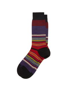 Pantherella Fun Stripe Sock