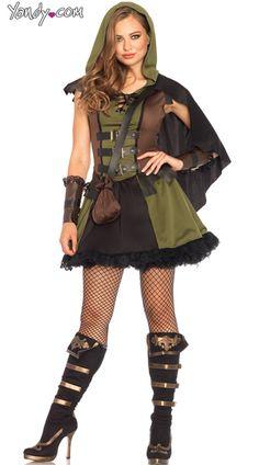 008a958feb7 Darling Robin Hood Costume