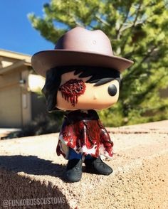 """5,009 Likes, 430 Comments - FUNKO, CUSTOMS, TWD And ART! (@funkoboss) on Instagram: """"""""DAD""""? My Custom Follow Up """"One Eyed Carl""""... The First One Eye Carl Piece I Completed A Little…"""""""