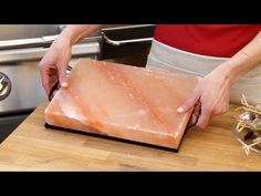 1000 images about food salt block on pinterest for Cooking fish on a salt block