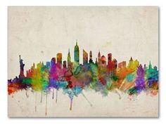 New York Skyline #Kohls #home #decor
