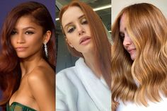 Cinnamon hair is the new, spicy shade of red you'll want to try ASAP. Here's how to dye your hair red, which shade of red will suit you, and more. Cinnamon Hair, Chestnut Hair, Ashy Blonde, Different Skin Tones, How To Lighten Hair, Go Red, Colored Hair, Hair Colour, Girl Crushes