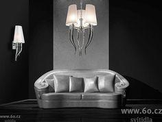 Azzardo Diablo, závěsné svítidlo, 6x11W (úsporné), prům.52cm - | 60.cz - svítidla