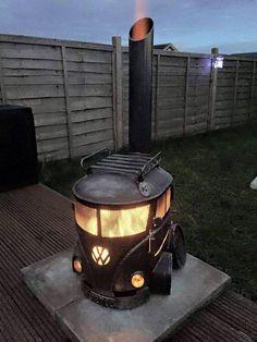 Garden BBQ/Log burner