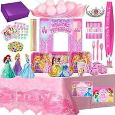 Disney Princess Birthday Party Supplies & Decorations For... https://www.amazon.com/dp/B07215DSGP/ref=cm_sw_r_pi_dp_x_rSsAzbCR4SY2S