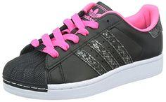 Adidas Women's Superstar 2 W, BLACK/PINK, 7 M US adidas http://www.amazon.com/dp/B00L5214BG/ref=cm_sw_r_pi_dp_Ey3hwb1HHB50F
