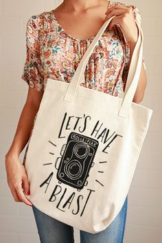 Let's Have a Blast Tote Bag