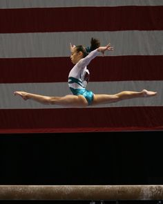 Katelyn Ohashi. She is honestly the most talented gymnast of both Juniors and Seniors. It just sucks that she's to young for the 2012 Olympics. Hopefully she stays healthy and driven for the 2016 Olympics!