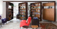 Livros decoram ambientes de maneira criativa e até mesmo inusitada - BOL Fotos - BOL Fotos