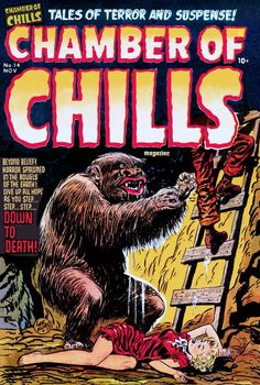 Comic Book Cover For Chamber of Chills Magazine #14 - Version 1